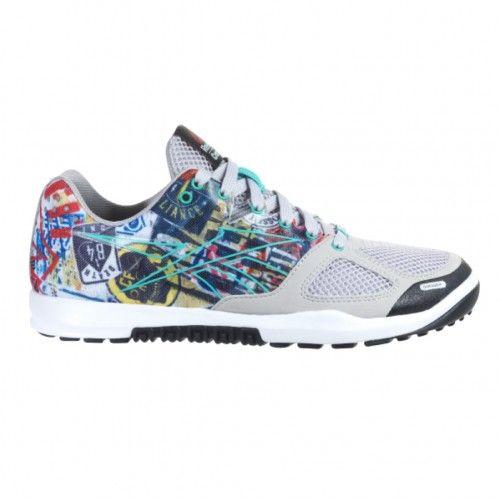 a9aa4c86b2813c Reebok Crossfit Nano 2.0 STKR Womens Training Shoe M47301 Steel-Teal-White