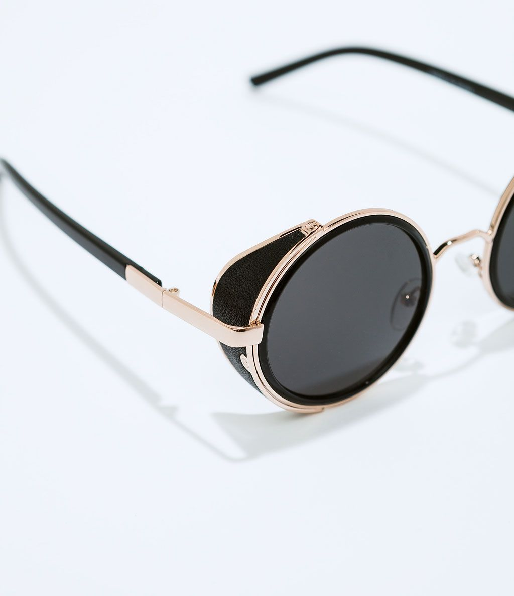 b1beab03ba8d Image 4 of ROUND SUNGLASSES from Zara Lunette Ronde Femme, Lunettes De  Soleil Homme,
