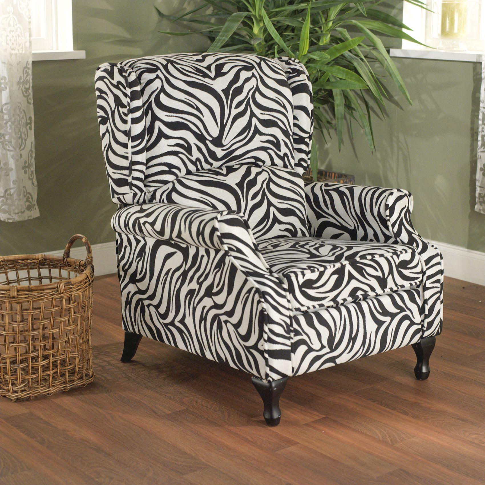 Simple Living Zebra Wing Recliner - Overstock™ Shopping - Big Discounts on Simple Living Recliners