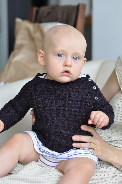 Ravelry: Tadpole\'s Purple Sweater pattern by Tinks and Frogs Rue ...