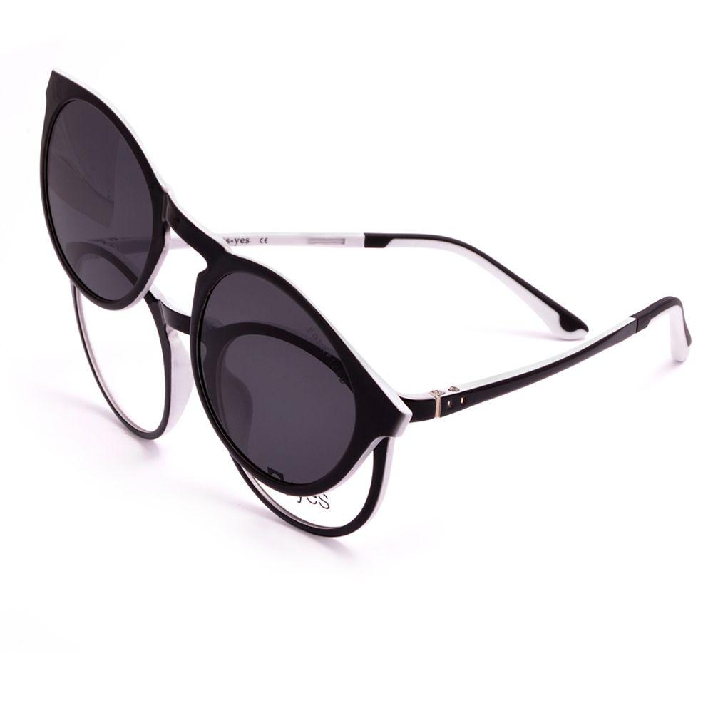 32bee1e6cc Γυαλιά Οράσεως E-yes EY8003 C8 με μαγνητικό CLIP ON. Επιλέξτε ένα από τα