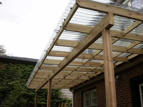 Image result for pergola roofing - Image Result For Pergola Roofing Open Terrace Pinterest