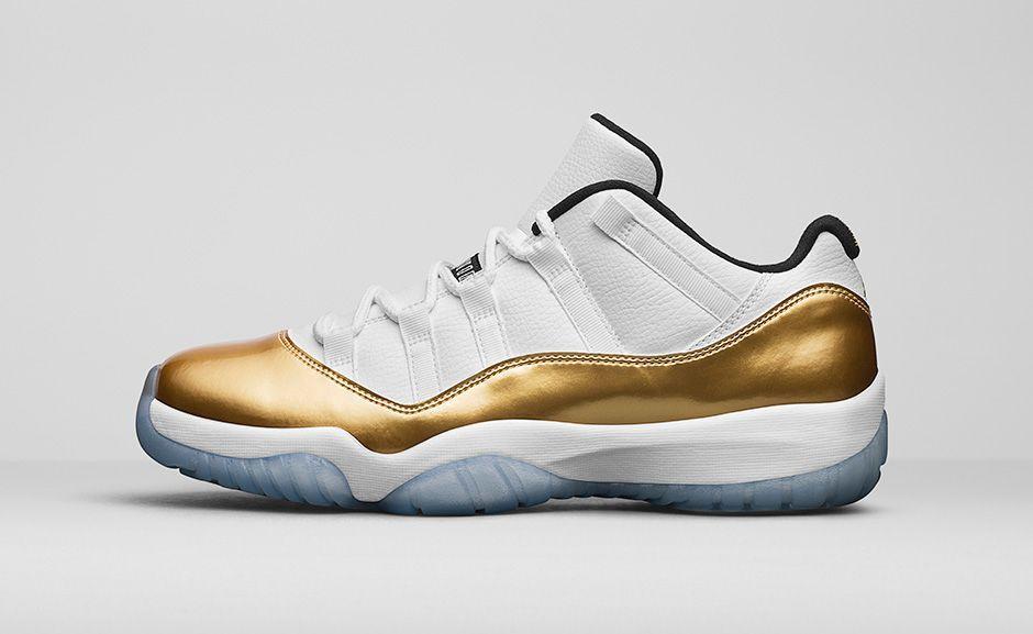 aj 11 gold