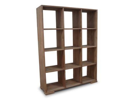 Rhythm Recycled Teak 12 Cube Bookcase