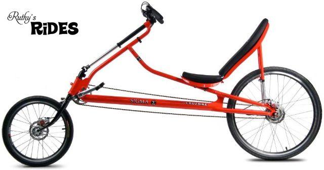 Sigma Cruzbike Recumbent Comfort Bicycle For Cycling Recumbent Bicycle Comfort Bicycle Bicycle
