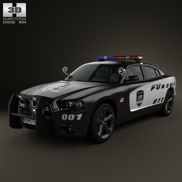Dodge Charger Police 2011 From Humster3d Com 3d Car Models