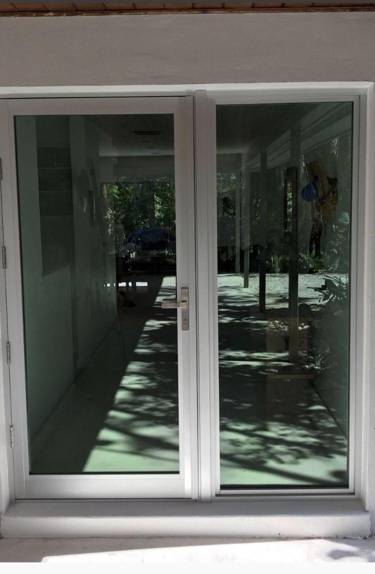 Impact Front Door With Skinny Frame Impact Doors Iron Doors Custom Front Entry Doors