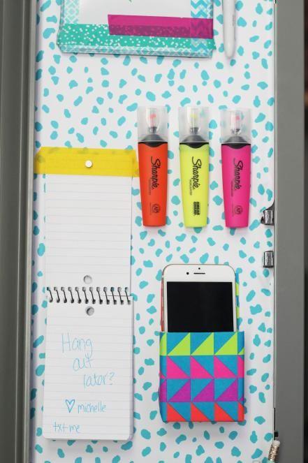 22 Diy Locker Decorating Ideas School Lockers School Locker
