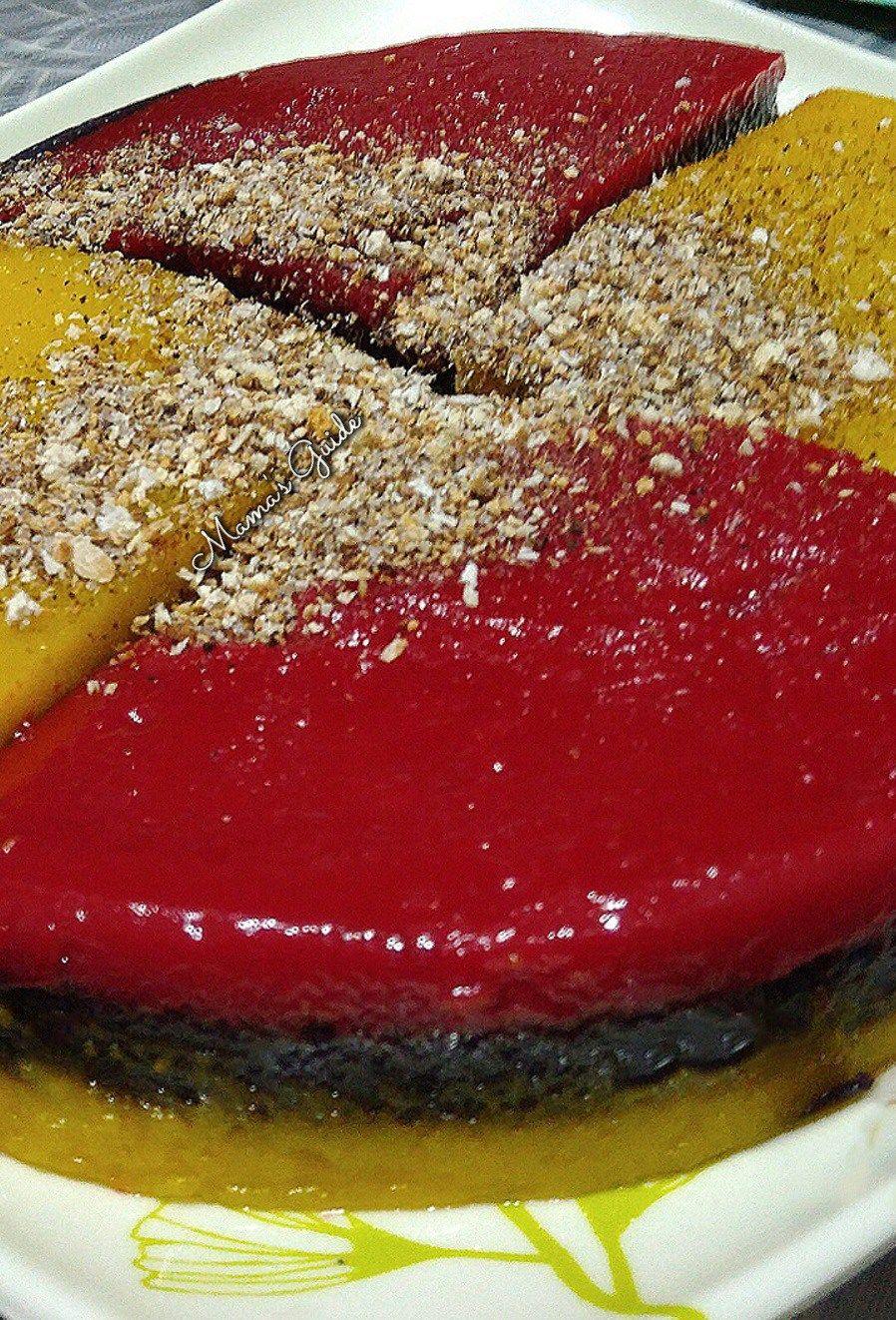 Sapin-Sapin (Rainbow Layered Sticky Rice Cake)   Sticky ...