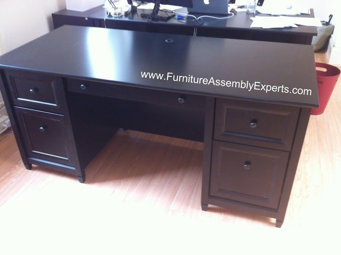 Staples Office Desk By Sauder Furniture Assembled In Fall Church VA By  Furniture Assembly Experts LLC