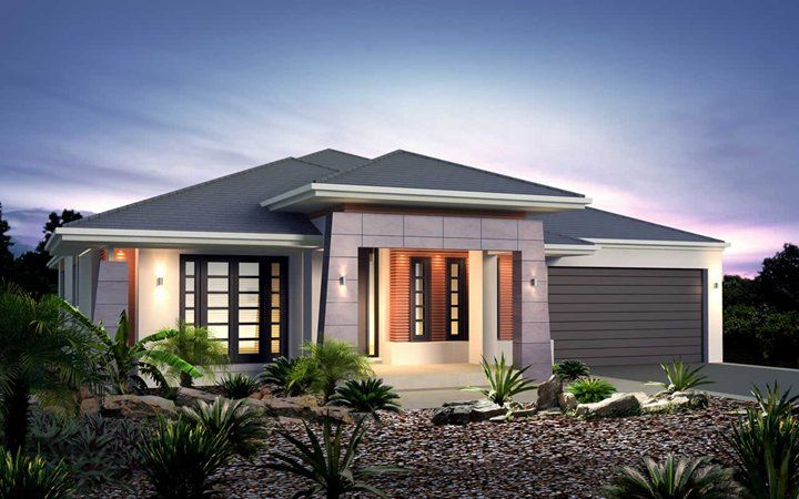 Metricon Home Designs: The Fortitude - Pagoda Facade. Visit www ...