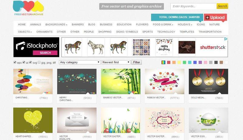Páginas Con Vectores Gratis Free Vector Archive Free Vector Art Holiday Icon Business Blog