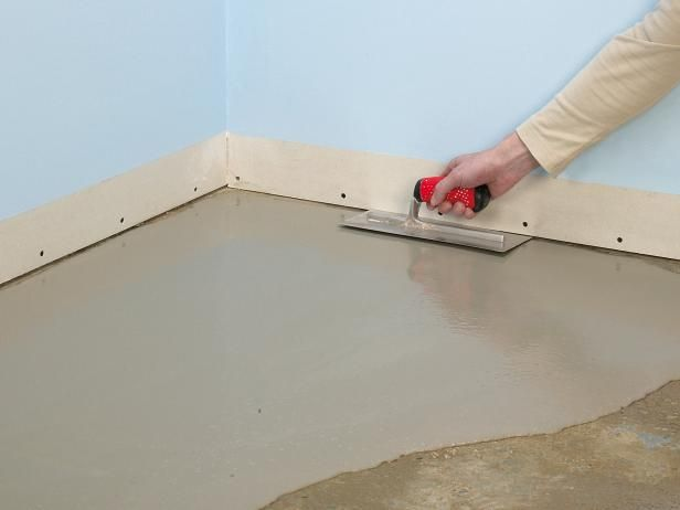 How to Lay a Subfloor | DIY to try | Concrete floors, Plywood