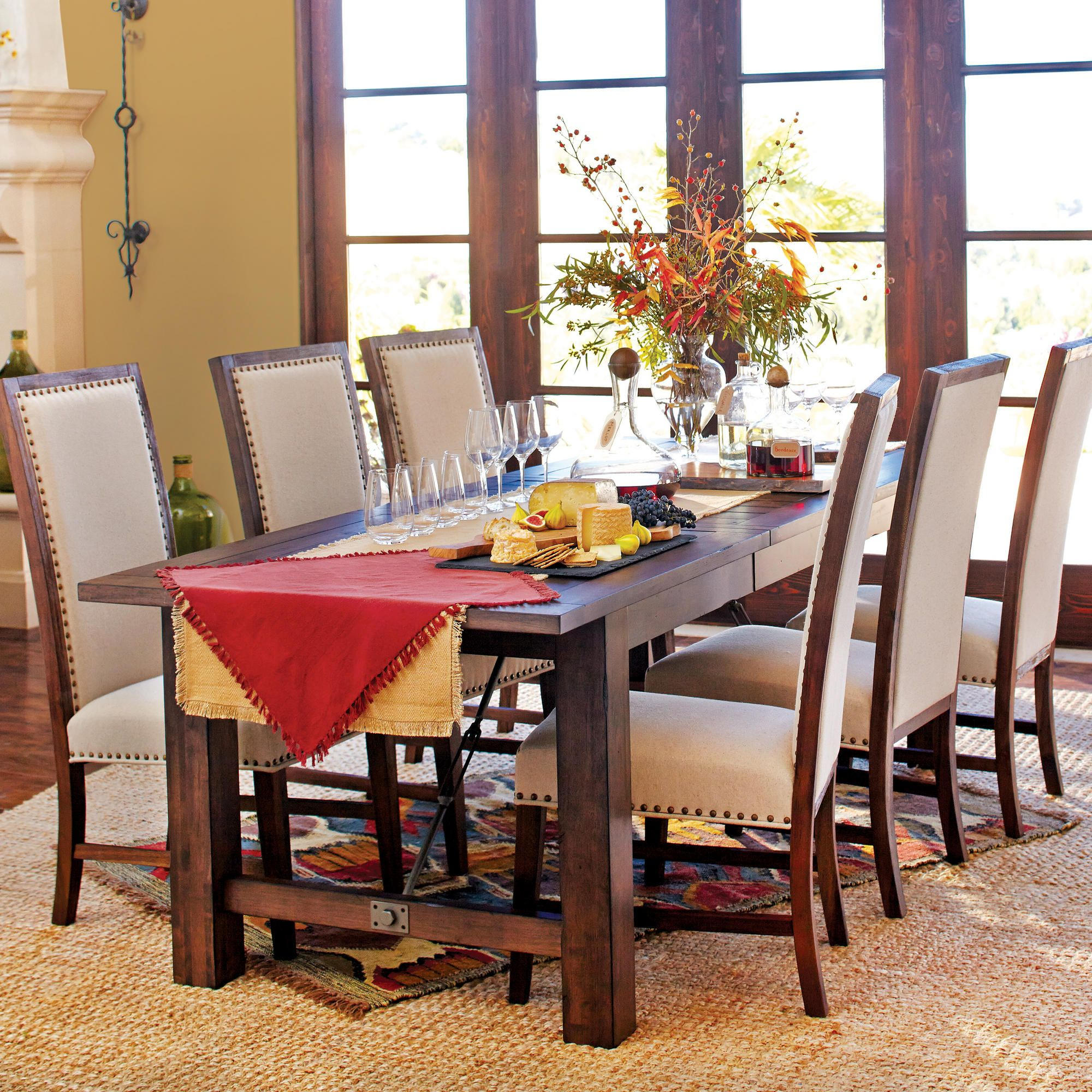 World Market S Garner Extension Dining Table 599 Http Www Worldmarket Com Product Garner Ext Table D Extension Dining Table Dining Table Dining Room Table