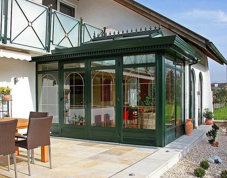 Englischer Wintergarten ~ Wintergartenanbau im englischen viktorianischen stil schweiz