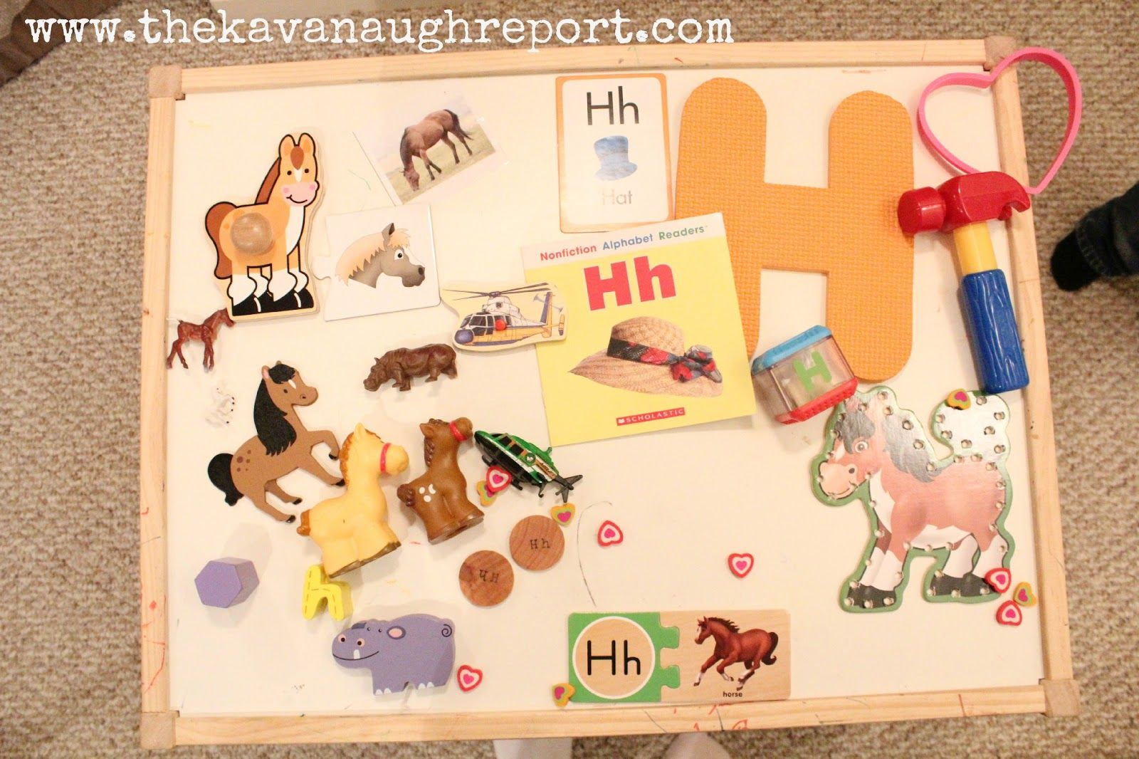 H Is For Horse Tot School