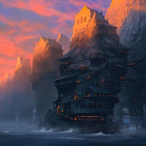Nice Painting by Noah Bradley