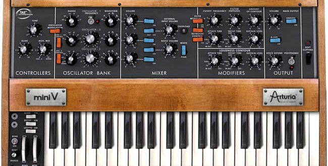 Review: Arturia Mini V2 Vintage Synth Plugin | Music Production SPOT