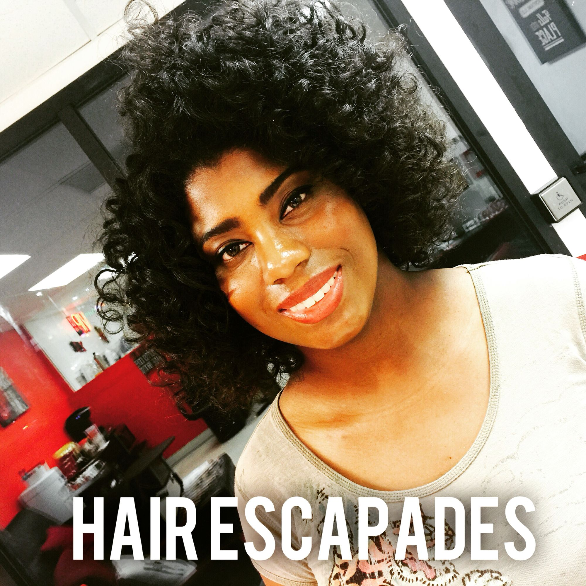 Haircut styles afro my client requested a curlyafro style and her wish was granted at