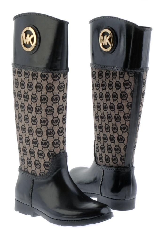 Michael Kors Boots-totally obsesseddddd<3 birthday is is 2 weeks whos  buying? Stivali Da PioggiaScarpe ...