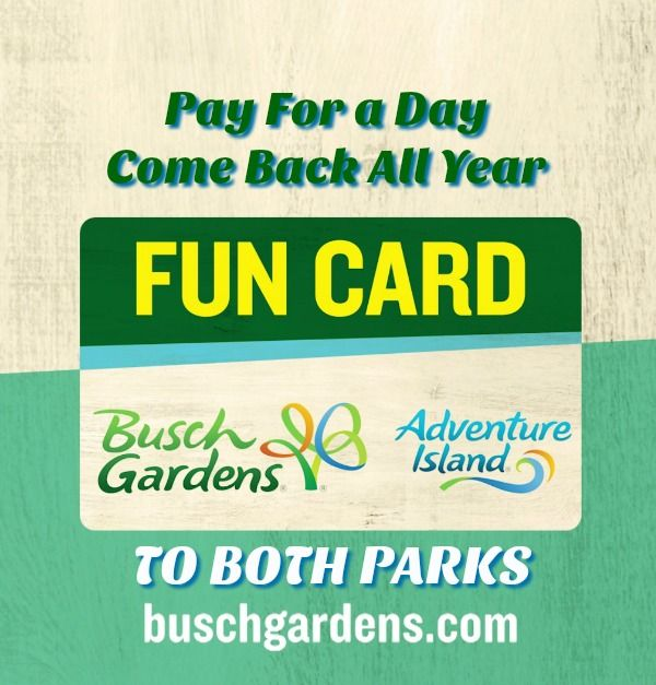 Busch Gardens Tampa - Pay For A Day Get TWO PARKS FREE in 2018 ...