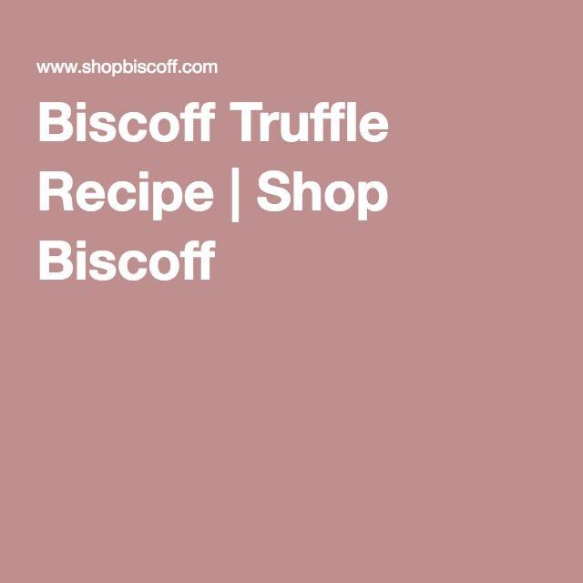 Biscoff Truffle Recipe | Shop Biscoff