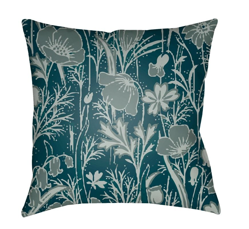 Surya Cf 4 2222 Chinoiserie Floral 22 Wide Square Botanical