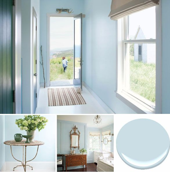 Benjamin Moore S A Breath Of Fresh Air Paint Color