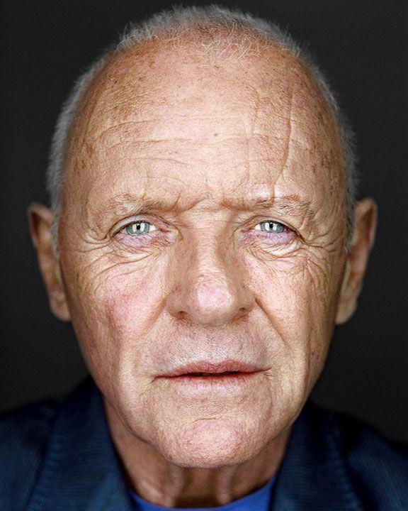Anthony Hopkins Martin Schoeller Celebrity Portraits Anthony Hopkins