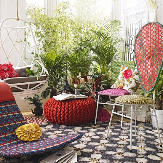 eclectic botanical conservatory | conservatory decorating ideas