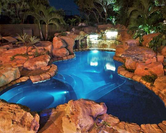 Dream swimming pool inground above ground swimming - Custom above ground pool ...