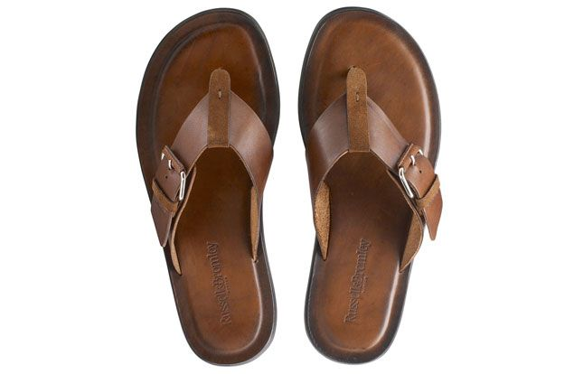 Toned Down Summer Chic At Russell Amp Bromley Buckle Up Tan