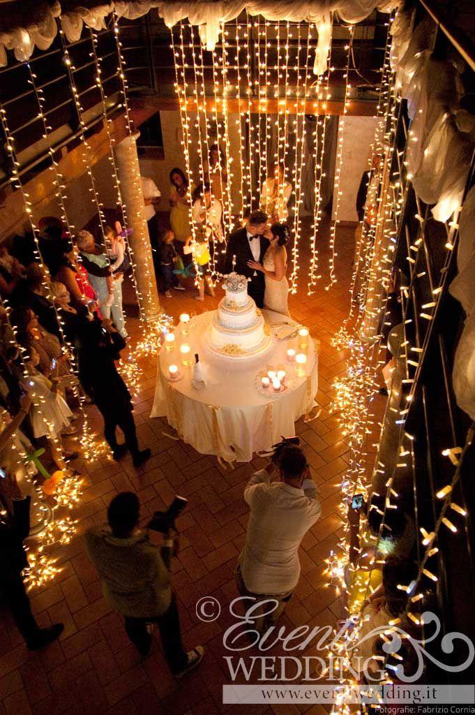 magico taglio torta effetti scenografici luminosi