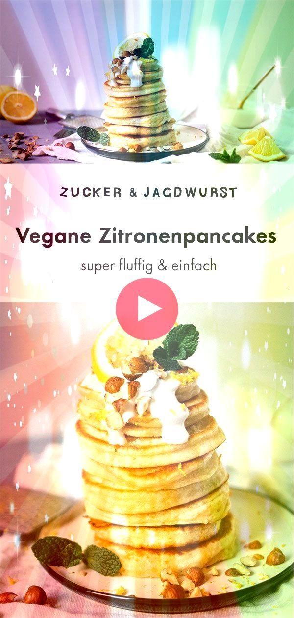 Simple Vegane Pancakes mit Zitrone  Joghurt Simple Vegane Pancakes mit Zitrone  Joghurt Meet the worlds best vegan cinnamon rolls vegan banana bread cinnamon rolls A cros...