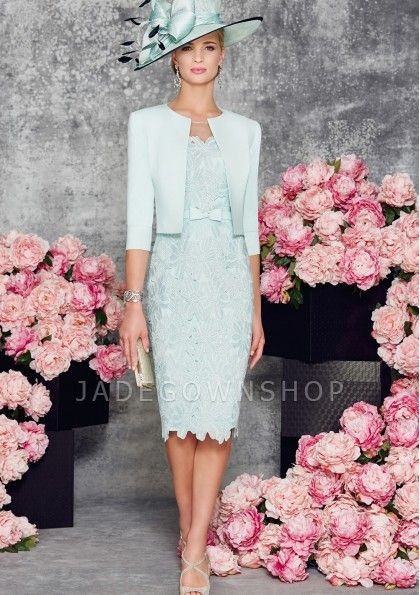 Fashionable mother of the bride 85
