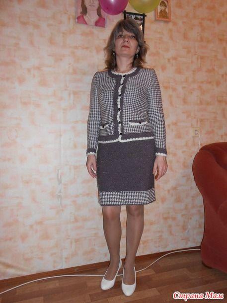8260305c673 Další CHCETE !!! Chanel stylu oblek by Olesya Danyluk - pletení ...