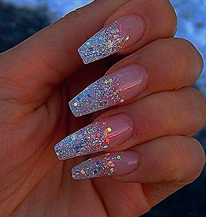 Inspire 2018 – Best Trend Fashion – 60 Newest Acrylic Coffin Nail Designs - Nail Design Ideas!