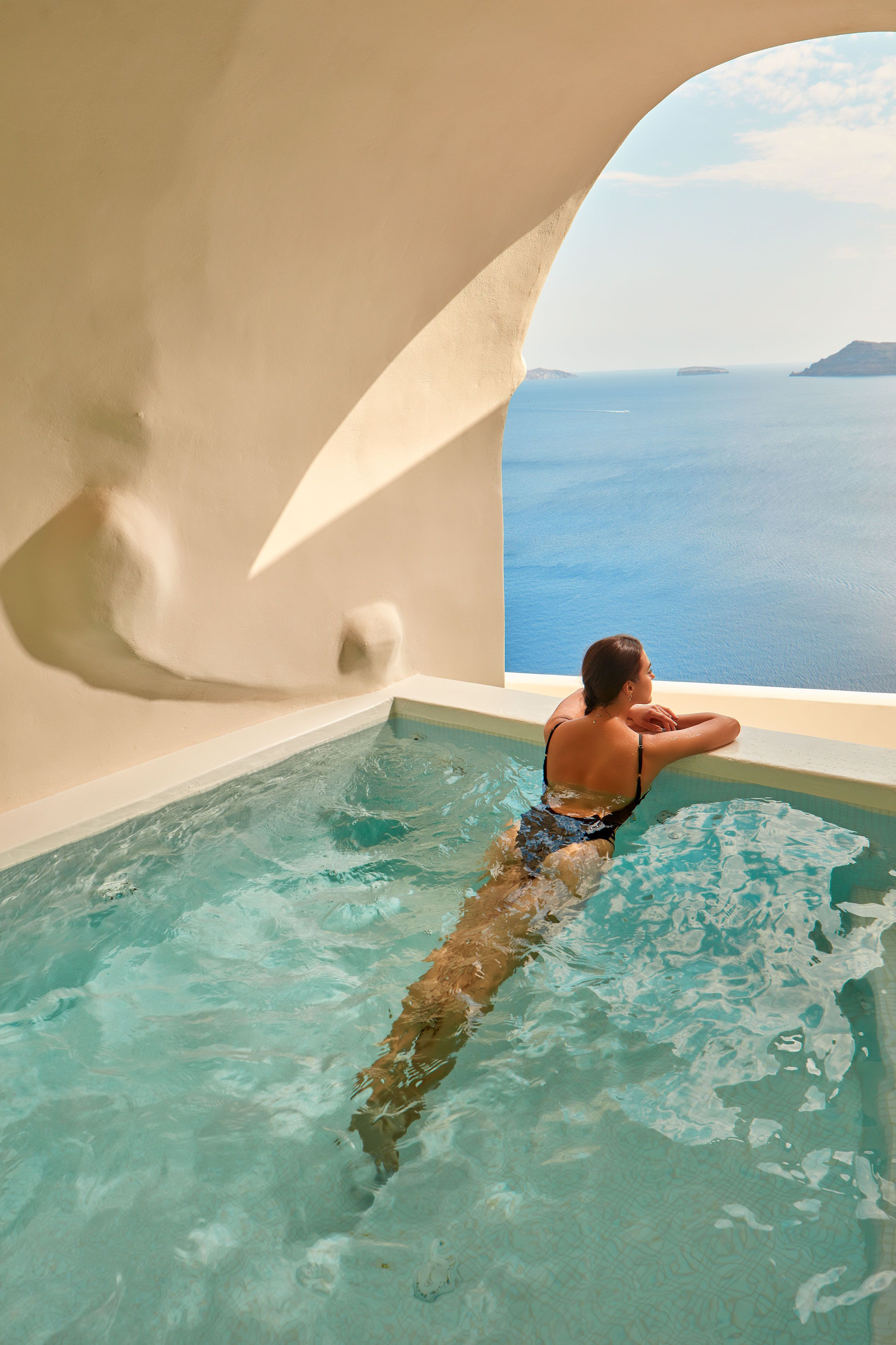 Canaves Oia Suites Executive Suite Cave Pool Luxury