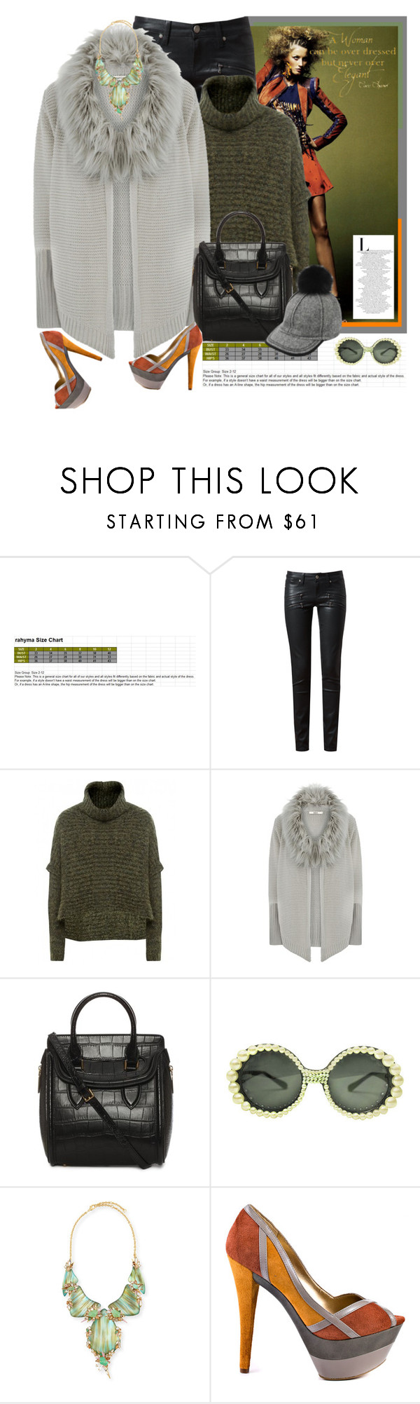 """whistle while you work"" by holjon2110 ❤ liked on Polyvore featuring Paige Denim, Sarah Pacini, Oasis, Alexander McQueen, Lola, Alexis Bittar, Jessica Simpson and Chanel"