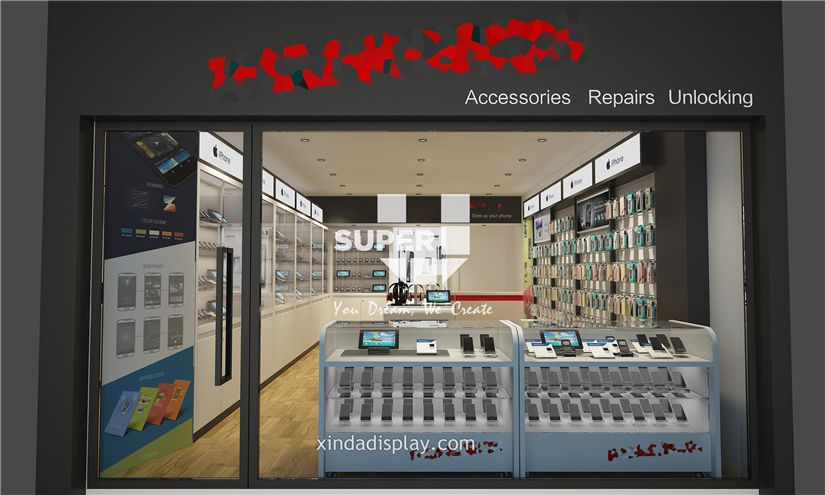 Mobile Phone Shop Design Phone Accessory Display 002 Retail Shop Interior Design Store Layout Design Cell Phone Shop Phone Shop Mobile Shop Design
