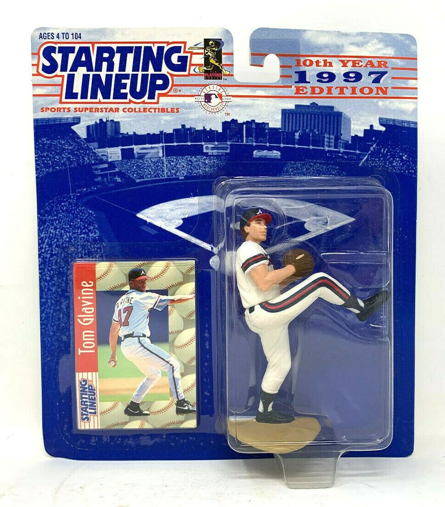 Starting Lineup 1997 Tom Glavine Atlanta Braves Baseball Mlb Slu 76281692524 Ebay In 2020 Braves Baseball Atlanta Braves Baseball Atlanta Braves