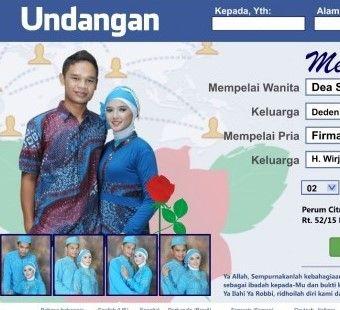 Download desain undangan nikah gratis