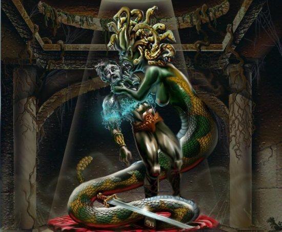 greek mythology people turn to stone
