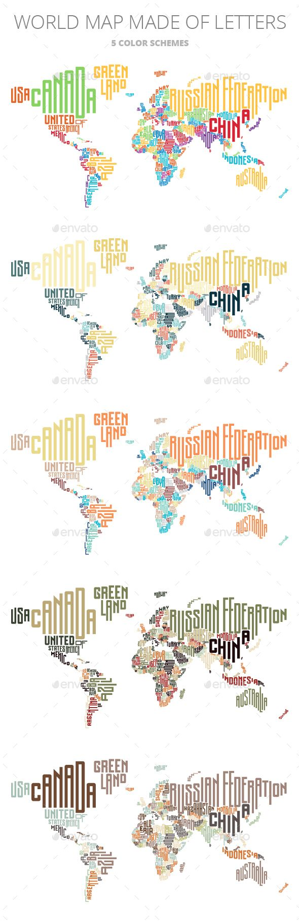 World map made of typographic country names hand drawn fonts and world map made of typographic country names by ildogesto world map made of typographic country names files included vector eps hand drawn letters are not gumiabroncs Images