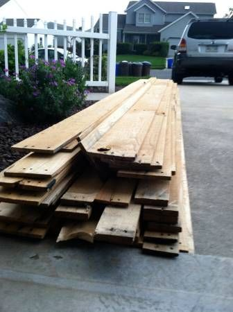 deconstructed pallets