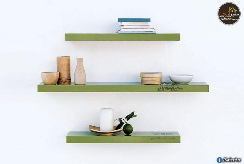 رفوف حائط مودرن 3 قطع سفير ارت للديكور Floating Shelves Shelves Furniture