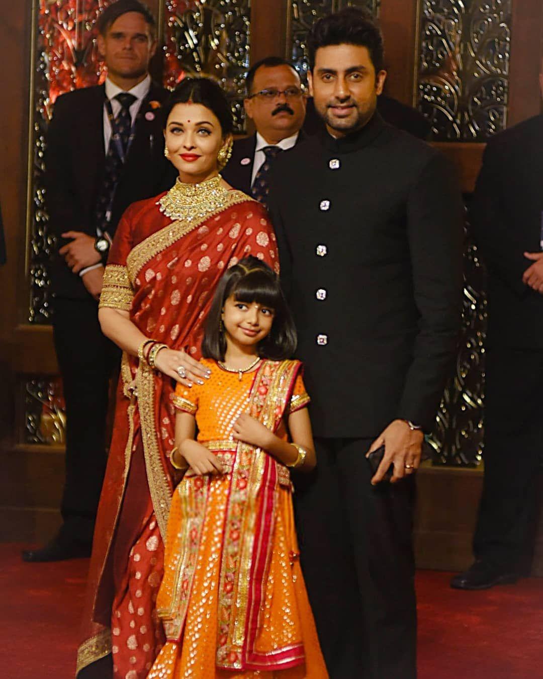 "Aishwarya Rai on Instagram ""ROYAL FAMILY 👨👩👧 TBT Isha"