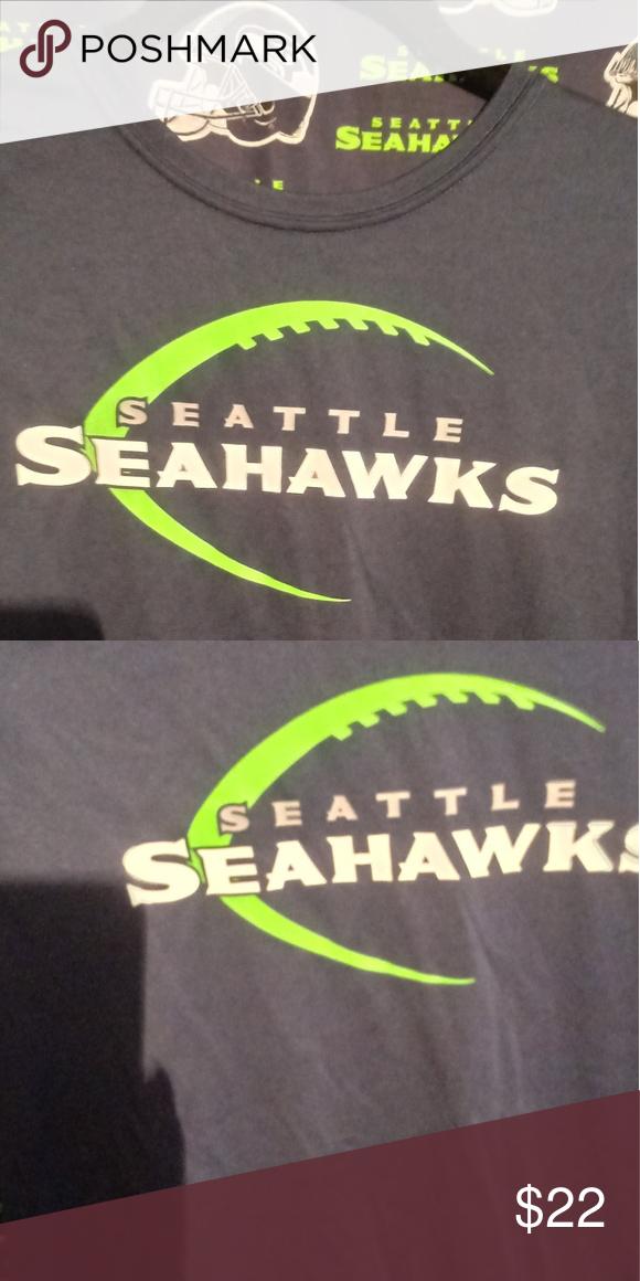 18555f02 Shirt Seattle Seahawks.tags on. The nike tee Tops Tees - Short ...