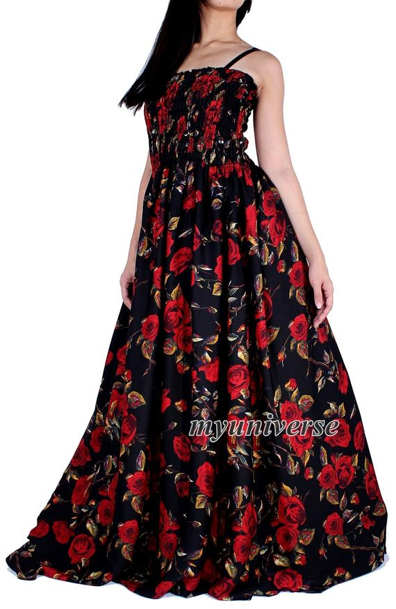 Extra Long Maxi Dress For Tall Women Plus Size Clothing Floral ...