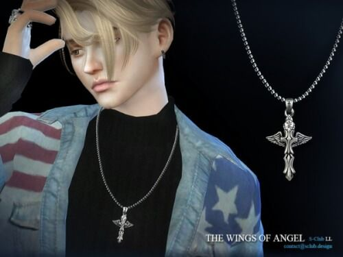 fabrication habile grand choix de grande vente au rabais Necklace M06 by S-Club LL from TSR for The Sims 4 | Sims 4 ...